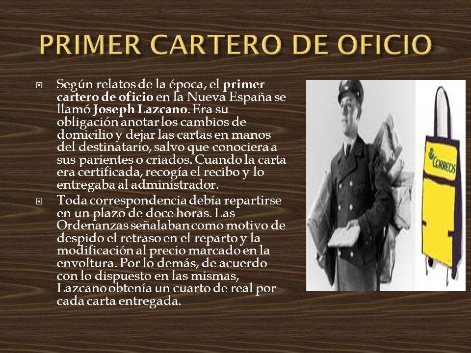 PRIMER CARTERO DE OFICIO