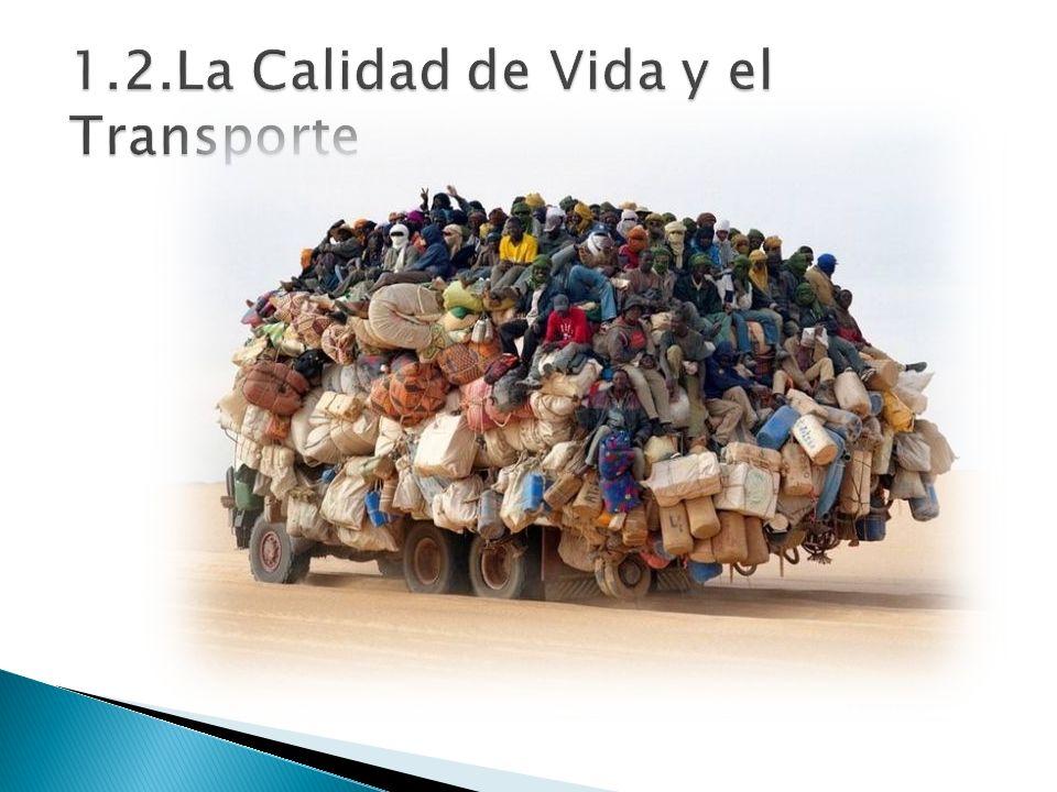1.2. La Calidad de Vida y el Transporte