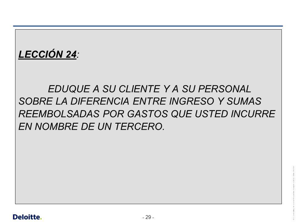 LECCIÓN 24: