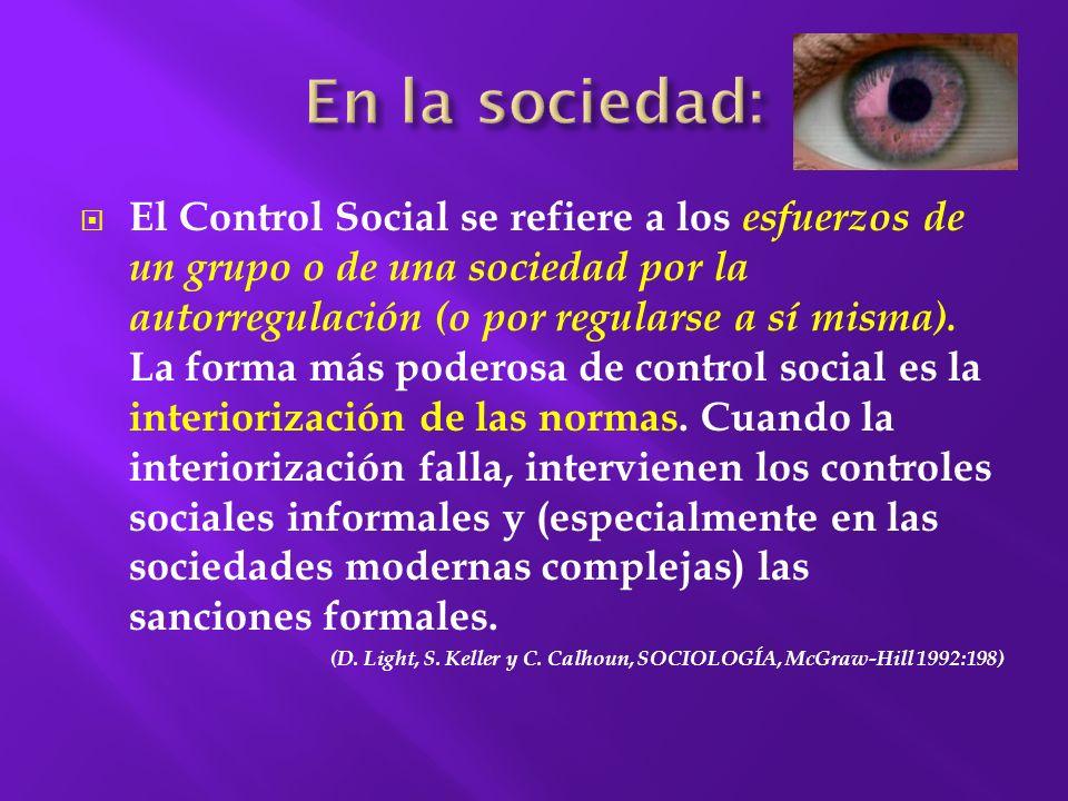 En la sociedad: