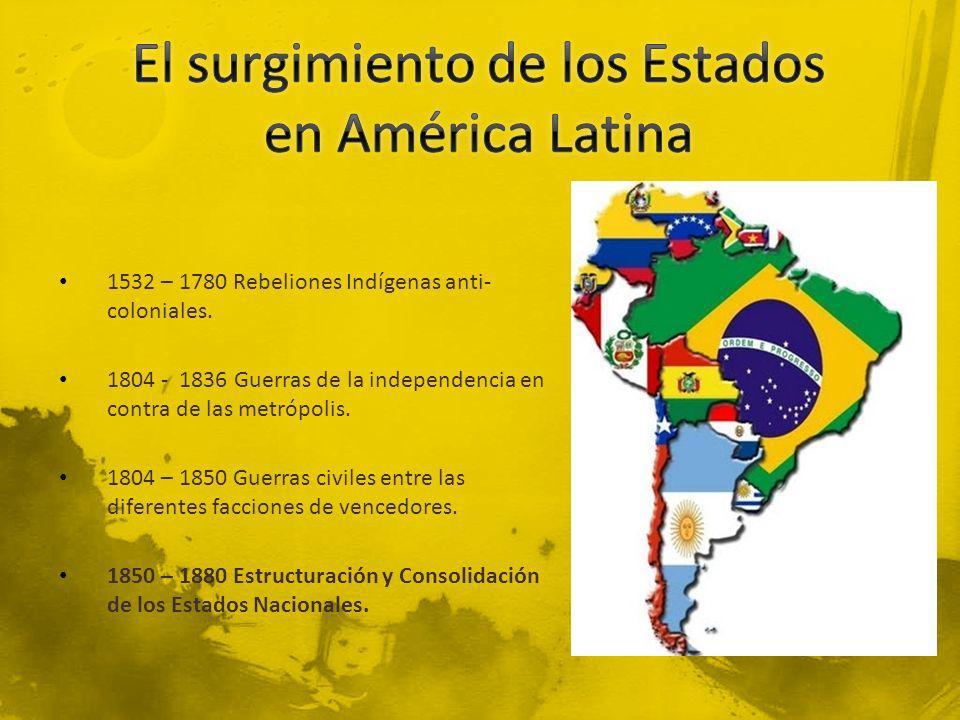 El surgimiento de los Estados en América Latina