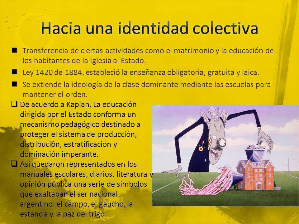 Hacia una identidad colectiva