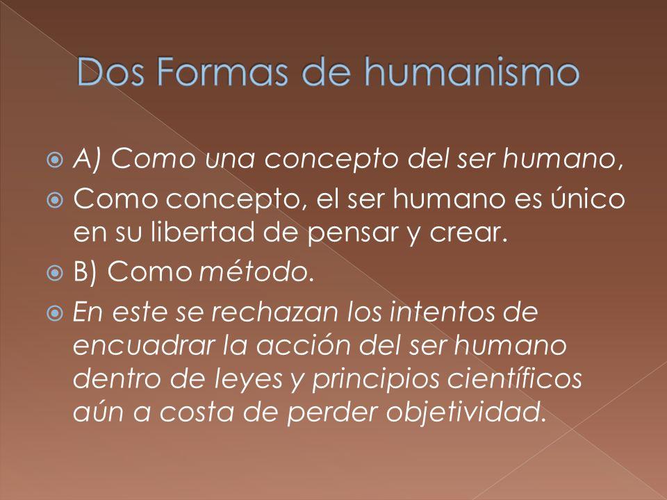 Dos Formas de humanismo