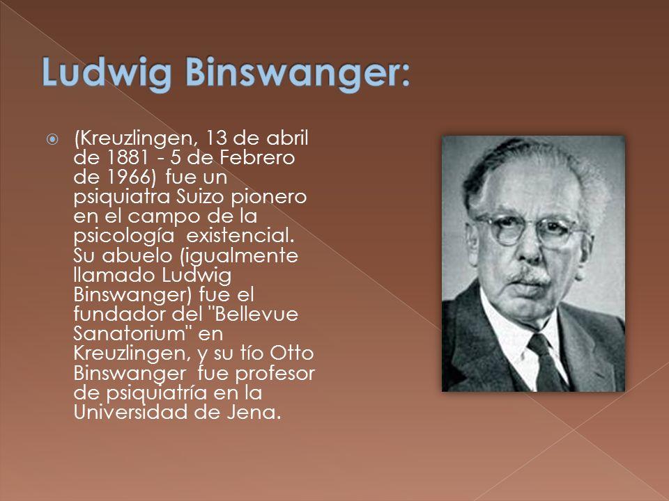 Ludwig Binswanger: