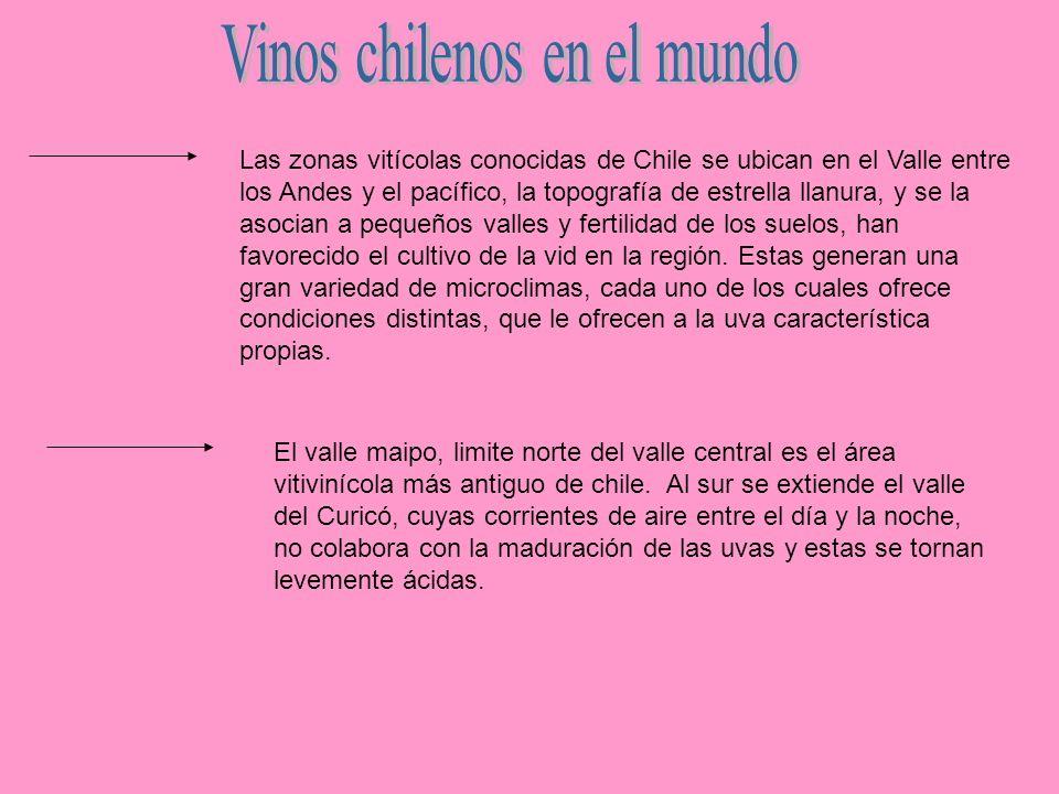 Vinos chilenos en el mundo