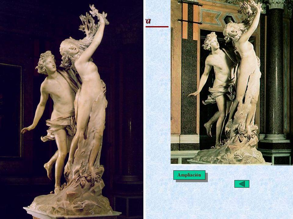 Italiano: Escultura Apolo y Dafne · Metamorfosis de Ovidio (Mitología)