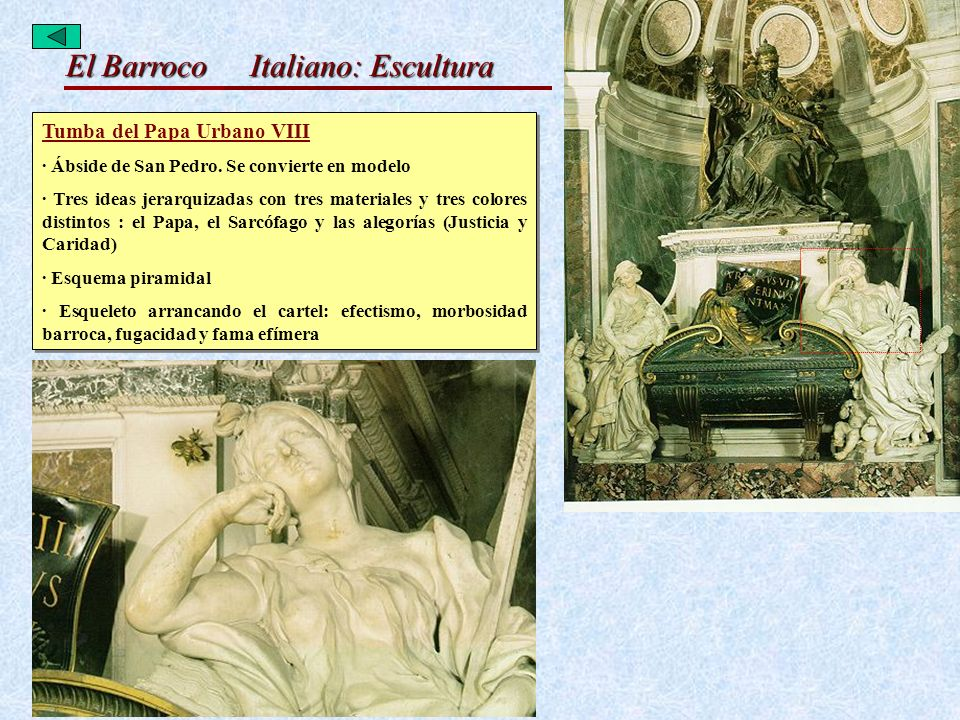 Italiano: Escultura Tumba del Papa Urbano VIII
