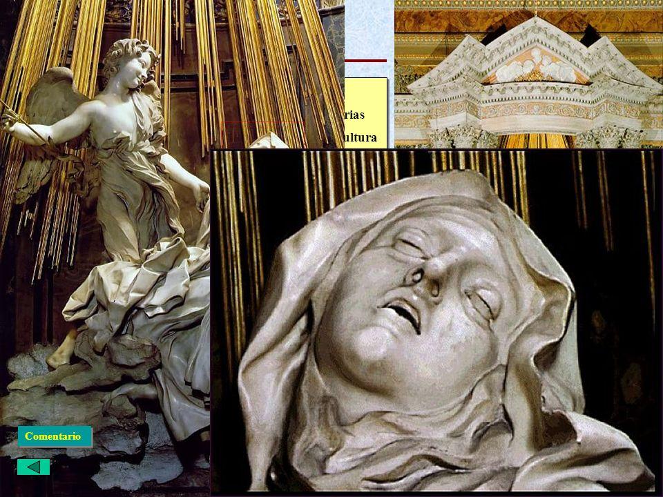Italiano: Escultura El éxtasis de Santa Teresa