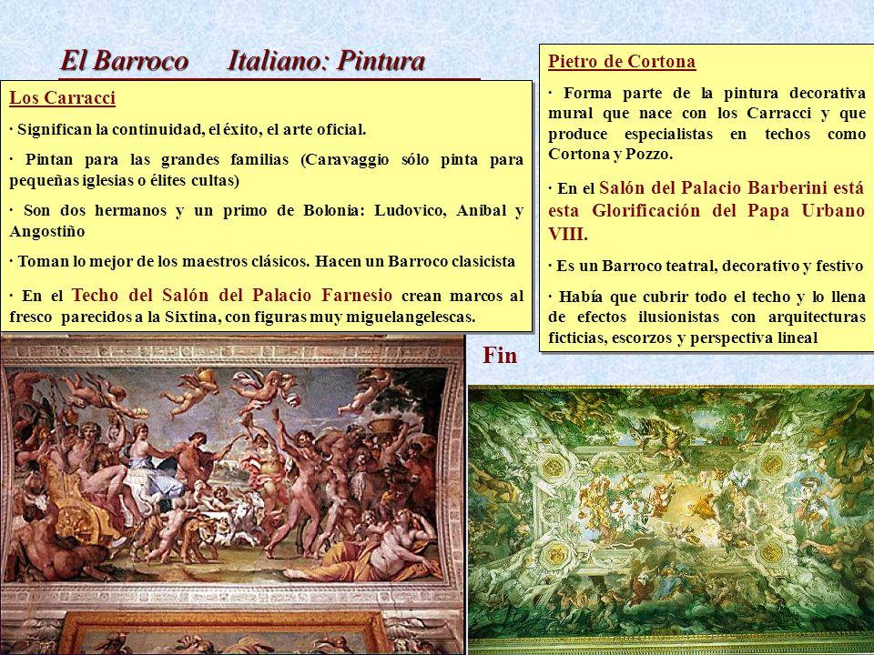 Italiano: Pintura Fin Pietro de Cortona Los Carracci
