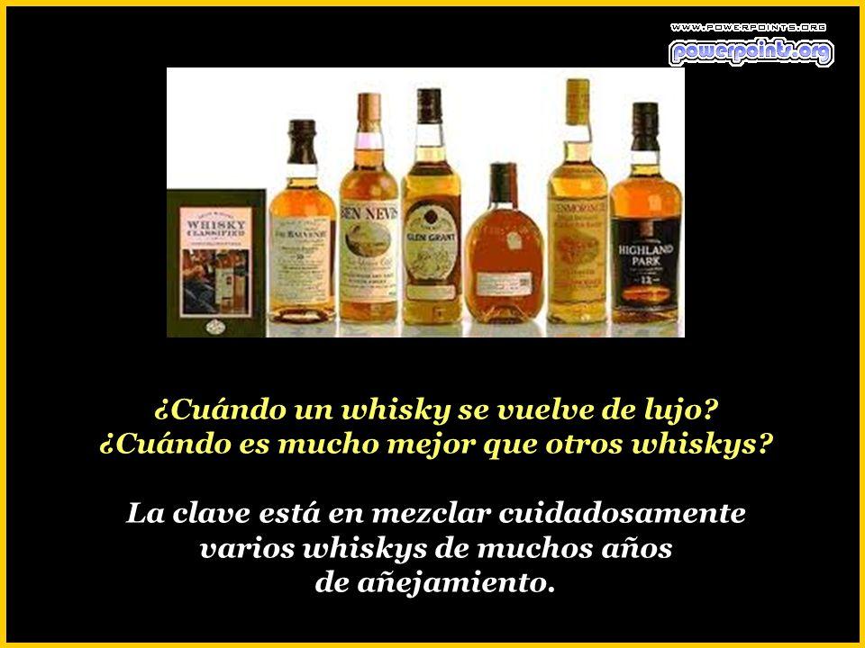 ¿Cuándo un whisky se vuelve de lujo