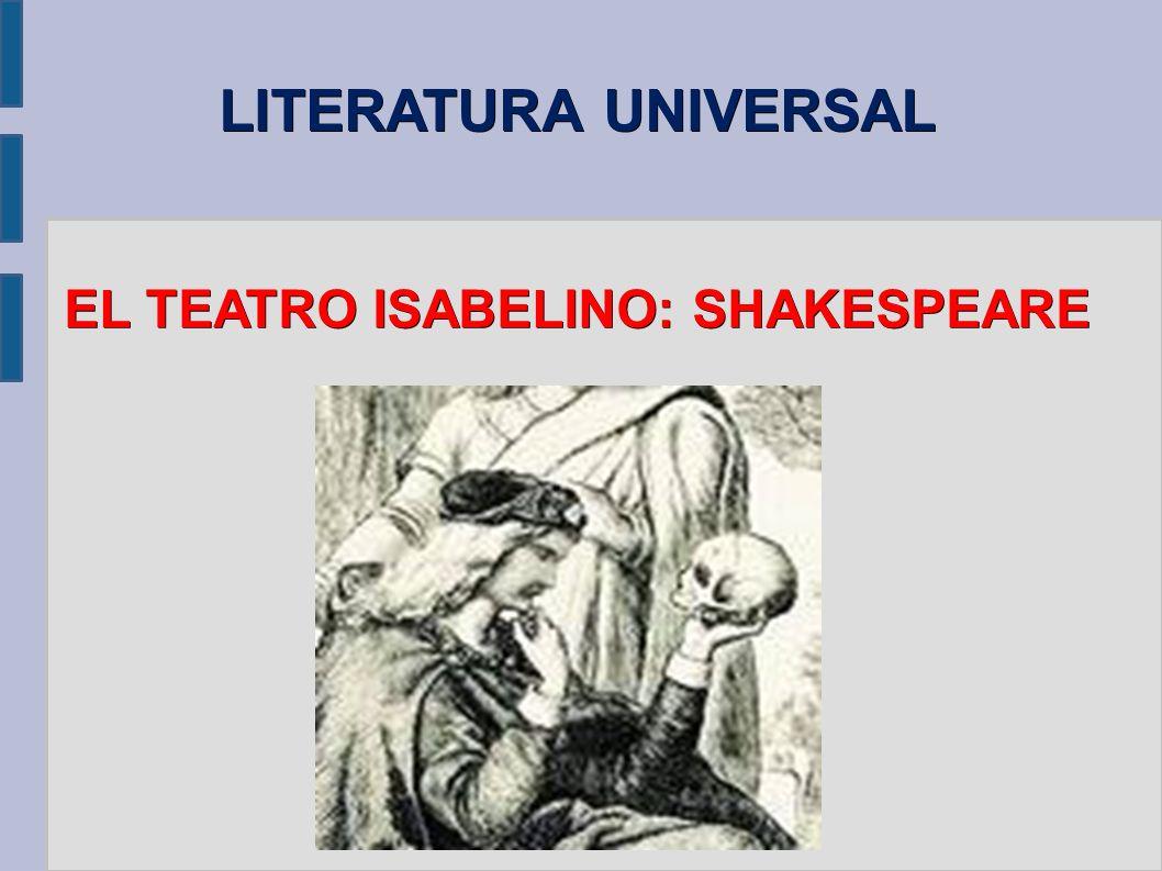EL TEATRO ISABELINO: SHAKESPEARE