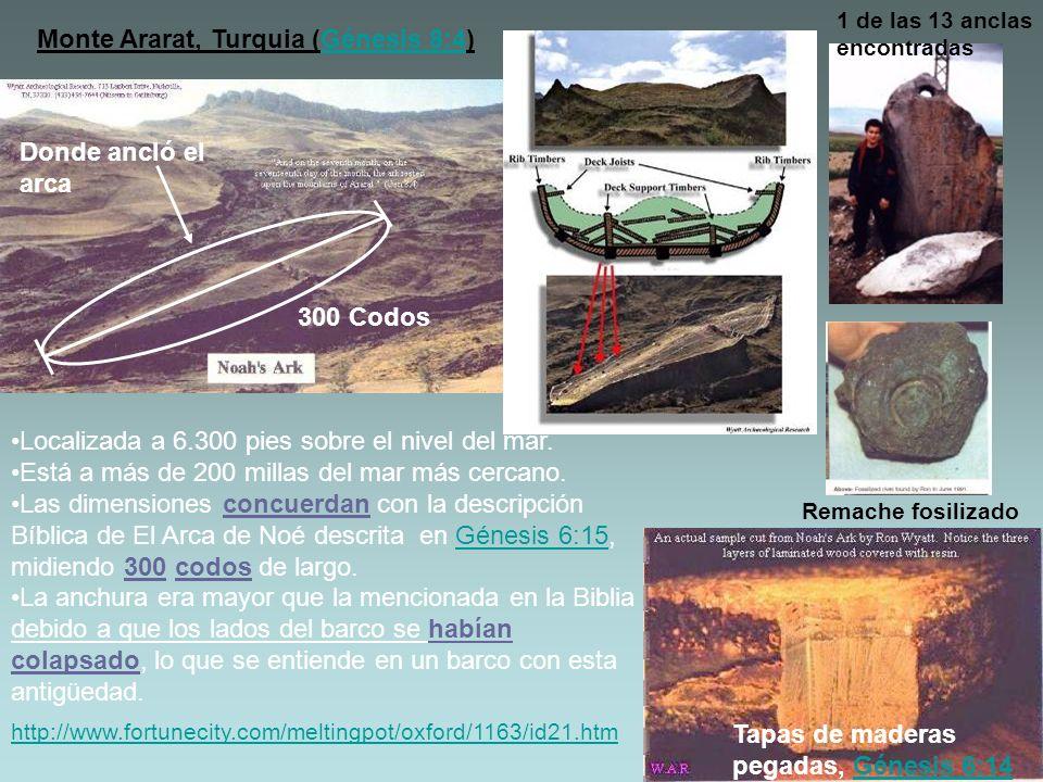 Monte Ararat, Turquia (Génesis 8:4)