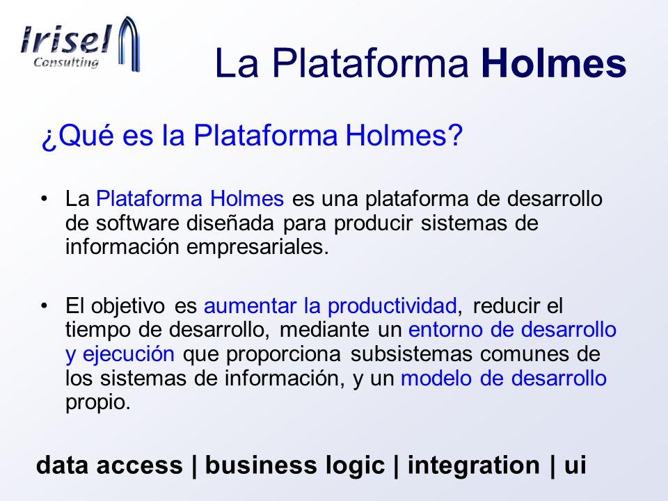 La Plataforma Holmes ¿Qué es la Plataforma Holmes