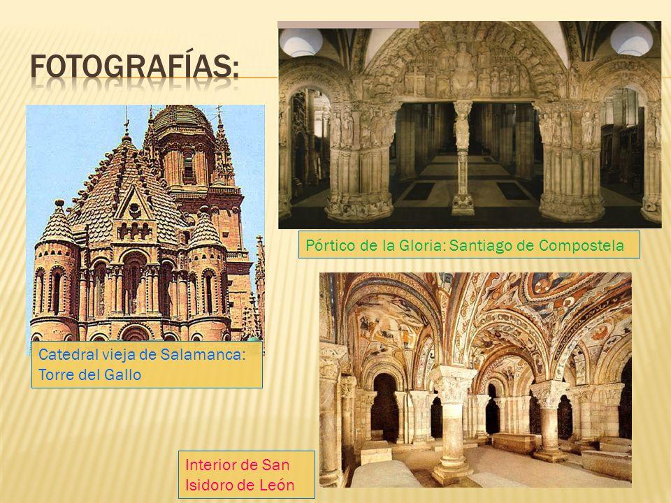 Fotografías: Pórtico de la Gloria: Santiago de Compostela