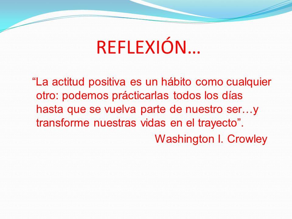 REFLEXIÓN…