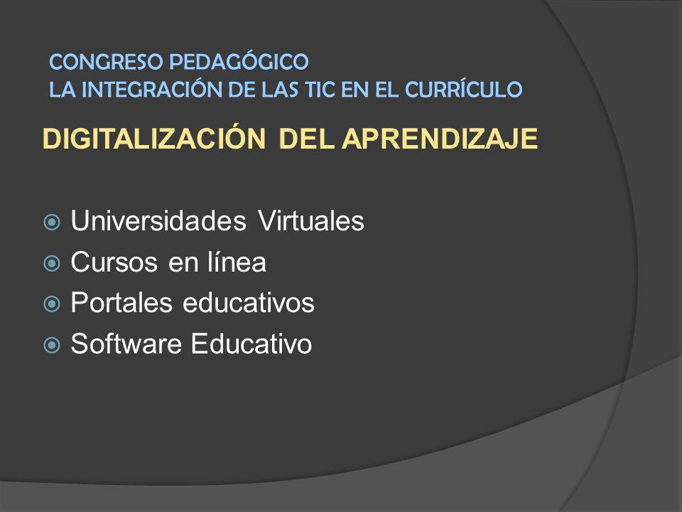 DIGITALIZACIÓN DEL APRENDIZAJE Universidades Virtuales Cursos en línea
