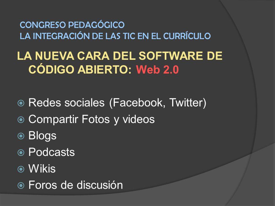 LA NUEVA CARA DEL SOFTWARE DE CÓDIGO ABIERTO: Web 2.0