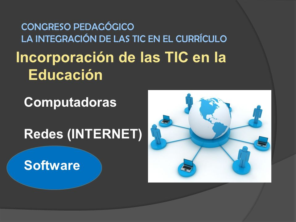 Incorporación de las TIC en la Educación