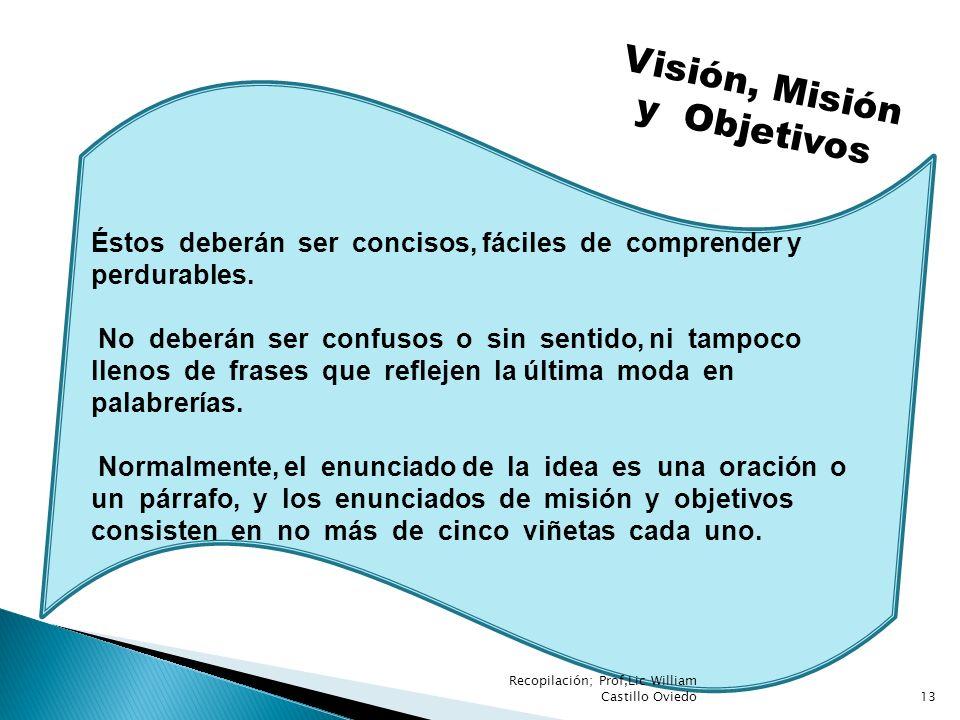 Visión, Misión y Objetivos