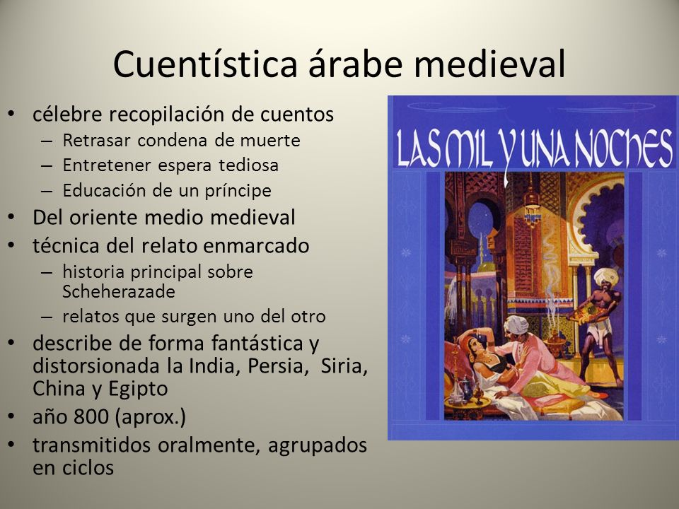 Cuentística árabe medieval
