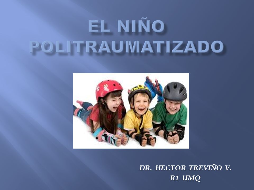 EL NIÑO POLITRAUMATIZADO