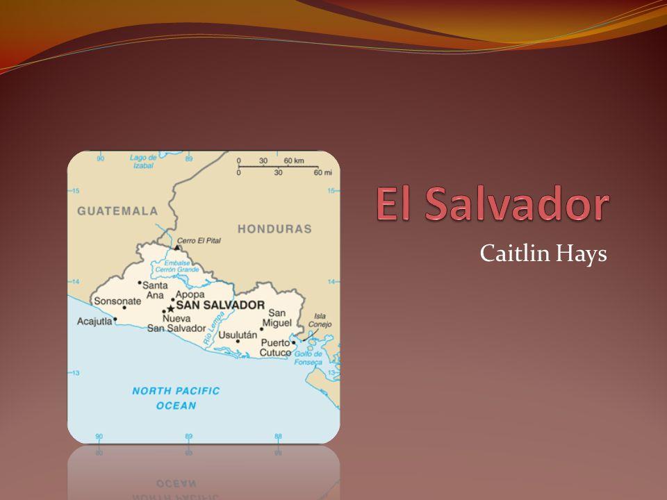 El Salvador Para esta presentación, yo elegí el país de El Salvador.