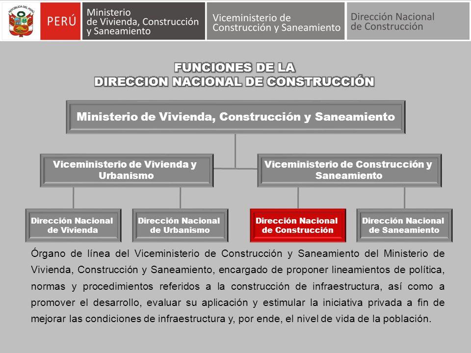 DIRECCION NACIONAL DE CONSTRUCCIÓN