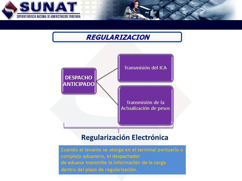 Regularización Electrónica