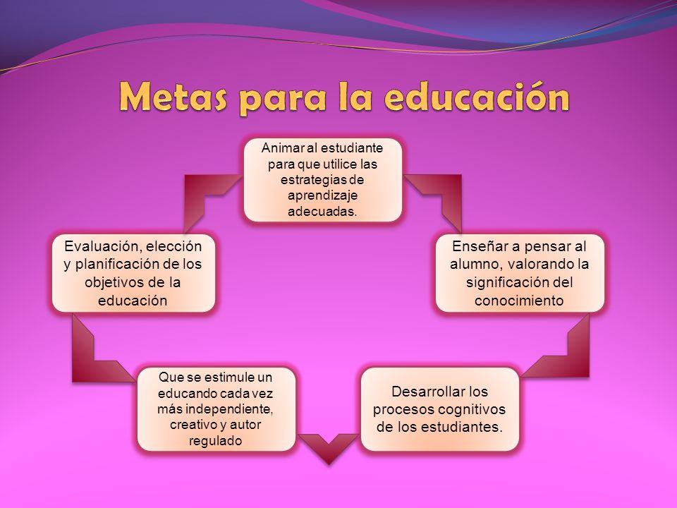 Metas para la educación