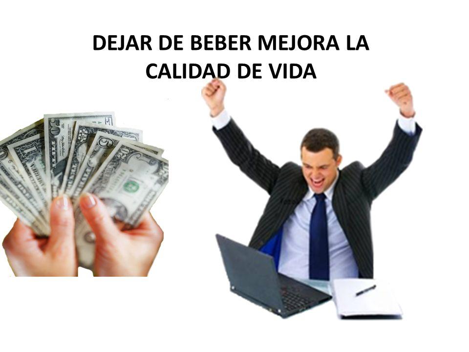 DEJAR DE BEBER MEJORA LA CALIDAD DE VIDA