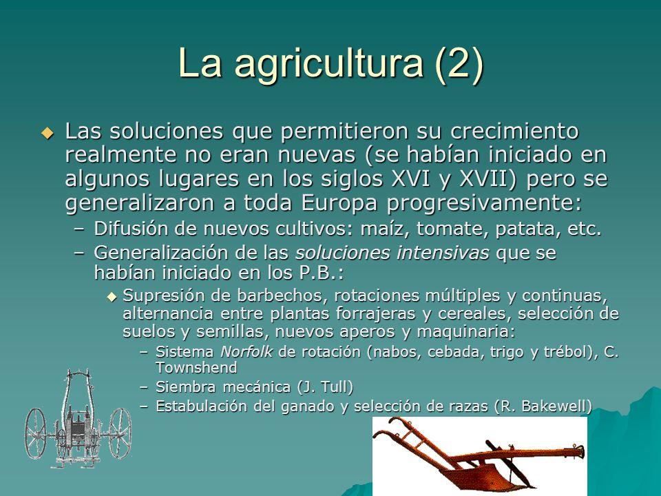 La agricultura (2)