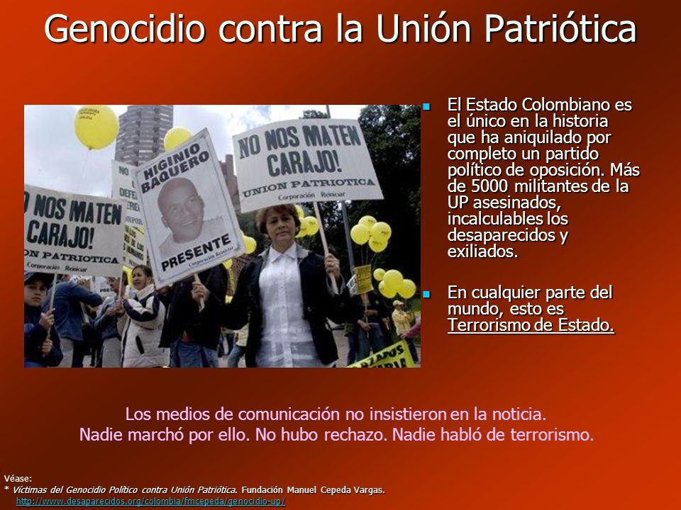 Genocidio contra la Unión Patriótica