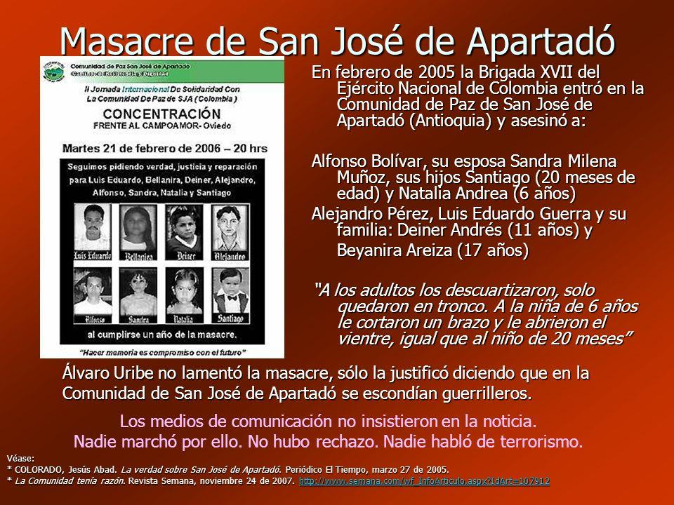 Masacre de San José de Apartadó