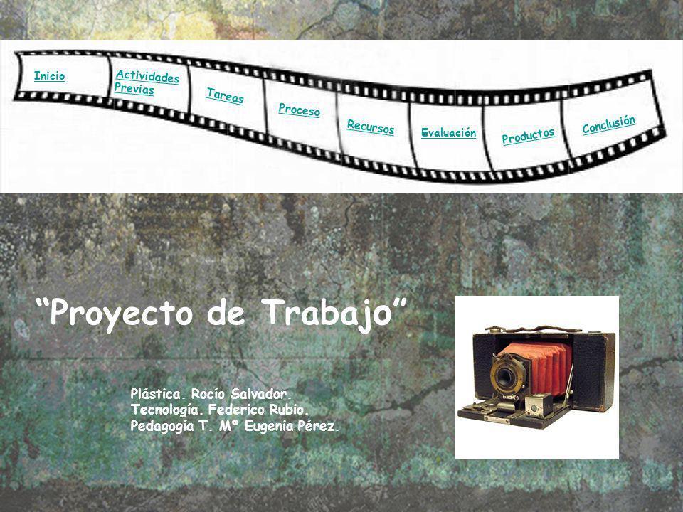 Proyecto de Trabajo Plástica. Rocío Salvador.