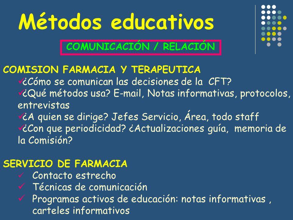 COMUNICACIÓN / RELACIÓN
