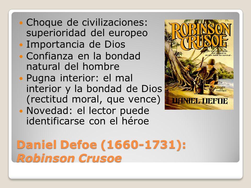 Daniel Defoe (1660-1731): Robinson Crusoe