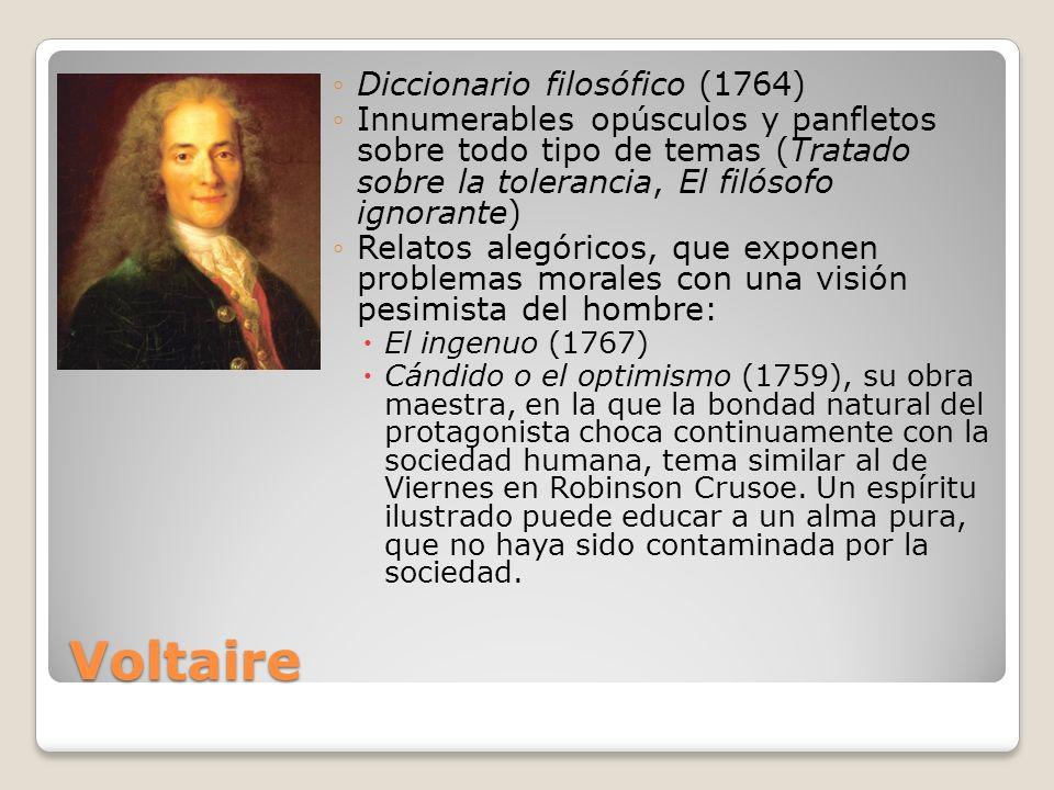 Voltaire Diccionario filosófico (1764)