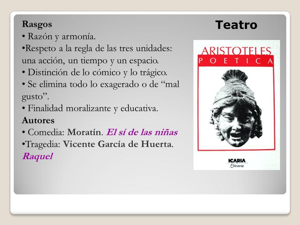 Teatro Rasgos Razón y armonía.