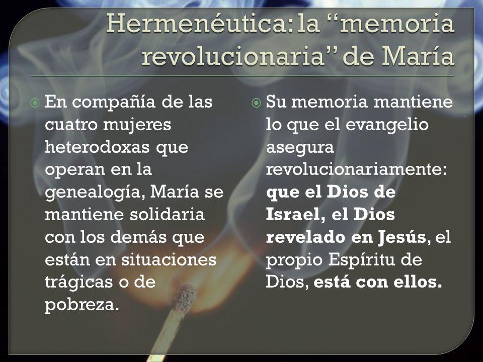 Hermenéutica: la memoria revolucionaria de María