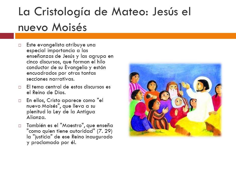 La Cristología de Mateo: Jesús el nuevo Moisés