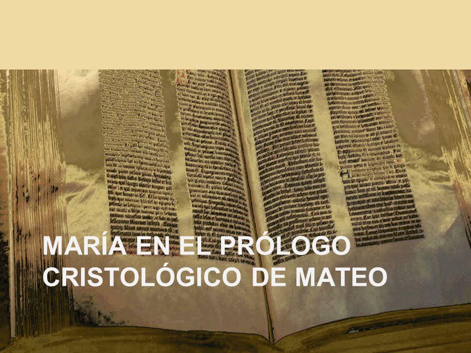 María en el Prólogo cristológico de Mateo