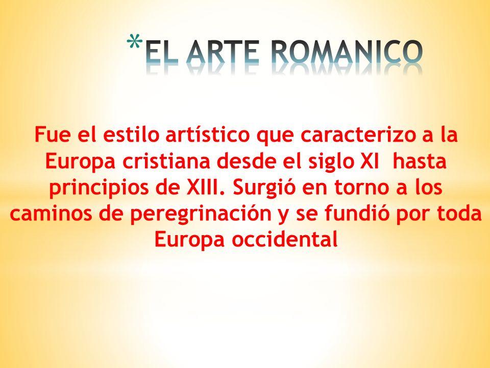 EL ARTE ROMANICO
