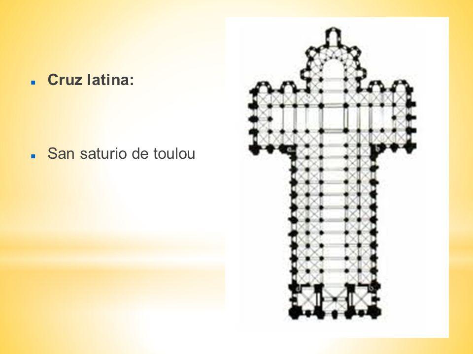 Cruz latina: San saturio de toulou