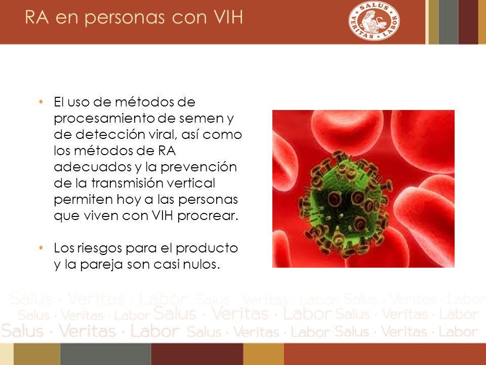 RA en personas con VIH