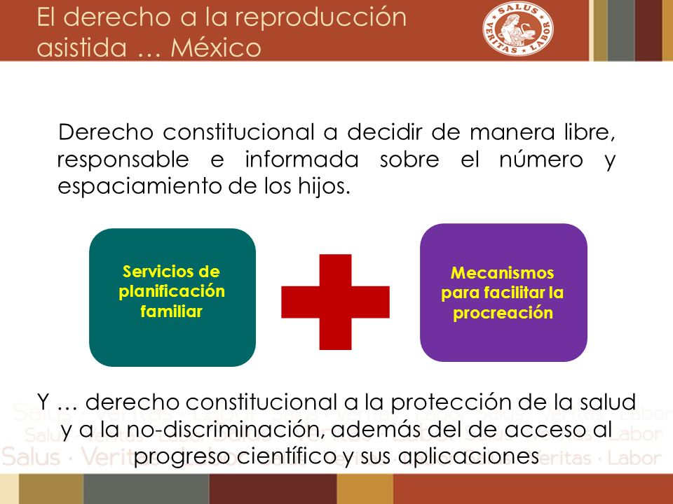 El derecho a la reproducción asistida … México