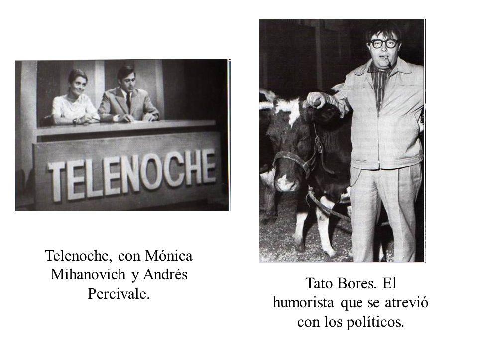 Telenoche, con Mónica Mihanovich y Andrés Percivale.