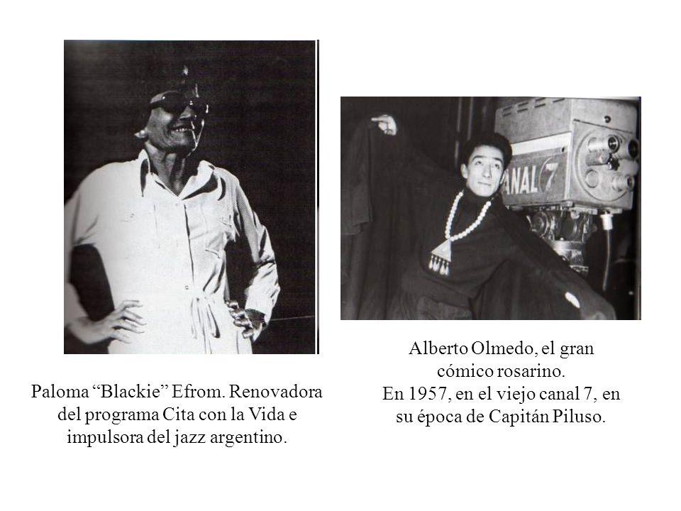 Alberto Olmedo, el gran cómico rosarino.