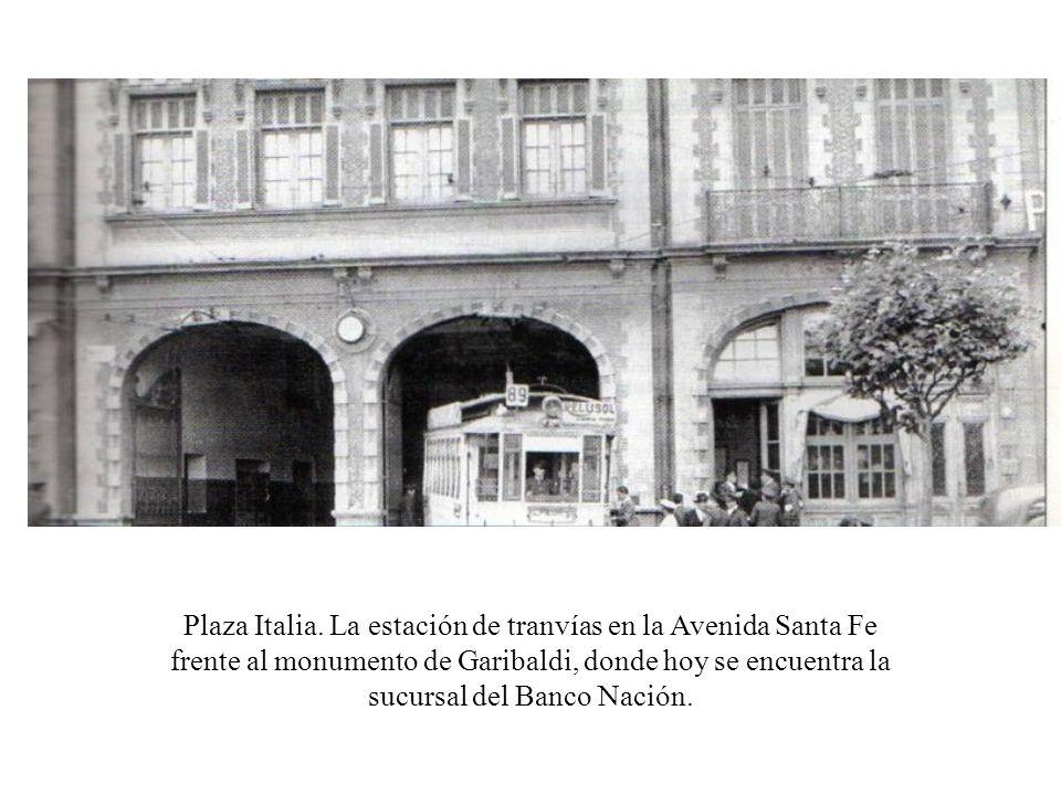 Plaza Italia.