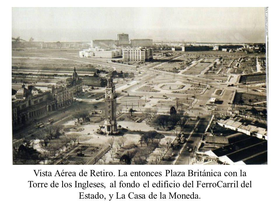 Vista Aérea de Retiro.