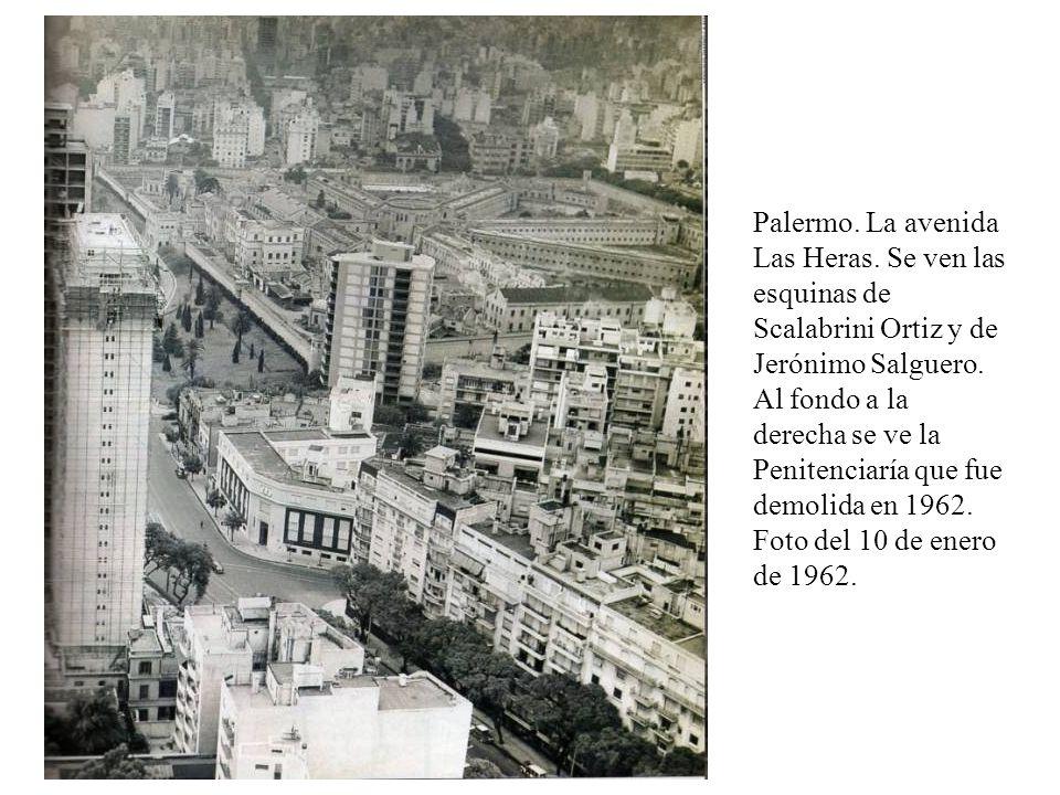 Palermo. La avenida Las Heras